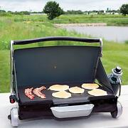 Camping Grill Portable Gas Propane Outdoor Cookout Picnic Barbecue Compact Cook