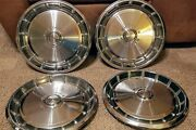 1971 1972 1973 Ford Mustang 14 Inch Hubcaps Wheel Covers Oem Set Of 4