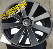 22 22x9.5 6x135 +30 Dub S187 8 Ball Black Wheels Only Ford F-150 Expedition
