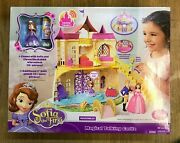 Disney Sofia The First Magical Talking Castle Mattel Y6791 Brand New