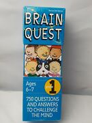 Brain Quest Grade 1 - Grade 1 Ages 6-7 Brand New Factory Sealed