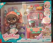 Kindi Kids Summer Peaches Fun Oven Doll And 5 Exclusive Shopkins Christmas Playset