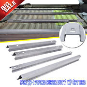 For Ford F-series Pickup 8'' Bed Floor Support Crossmember Rails Bed Brace Rails