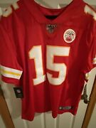 Patrick Mahomes Nike Limited 'nfl 100' Year Signed Chiefs Jersey Fanatics Cert