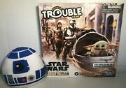 New Trouble Game Star Wars The Mandalorian Ed Baby Yoda Board Game Squishmallows