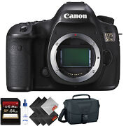 Canon Eos 5ds Dslr Camera Body Only + 64gb Memory Card + 1 Year Warranty