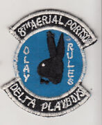 Wartime Viet Made 8th Aerial Port Squadron Full Color Miniature Patch 148