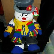 Build A Bear Workshop Nwt Frosty The Snowman Outfit Gloves And Shoes Christmas