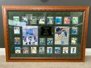 Tiger Woods And Jack Nicklaus Golf Autographed Sports Illustrated Framed Collage
