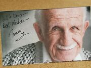 Murray Gershenz D.2013 Autographed 3x5 - I Love You Man, The Hangover Actor