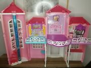 Barbie Malibu Dream House Mansion 2 Story Foldable Limited Edition Hard To Find