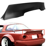 For Mazda Miata Abs Rear Boot Trunk Tailgate Spoiler Ducktail Rocket Style