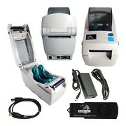 Zebra Lp2824 Thermal Label Printer Barcodes Pos Tags Quickbooks Tech Support ...