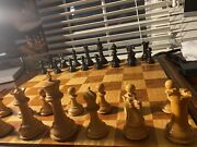 Chess Board House Of Staunton Pieces Sold Separatley