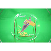 Ned Smith Ring-necked Pheasant Glass Plate