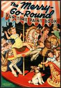 Merrill Archive Copy The Merry-go-round Fun-time Paint Book 3474/1940 M426