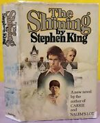Stephen King 1977 The Shining Hardcover Book Dj 8.95 True First Edition R49