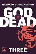 God Is Dead 3 Comic 2013 - Avatar Comics By Hickman Of East Of West And Avengers