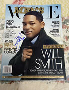 Will Smith Signed Autographed Vogue Magazine