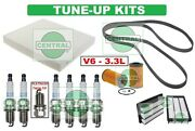 Tune Up Kits For 07-09 Santa Fe Spark Plugs Belt Air Cabin And Oil Filter