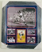 Sandy Koufax Los Angeles Dodgers Framed Autograph Collage Brooklyn Dodgers Lefty