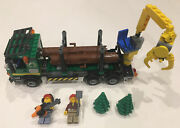Lego City Logging Truck 60059 100 Complete Retired