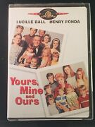 Yours Mine And Ours Dvd 2001 Full Screen Family Comedy Lucille Ball H Fonda