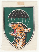 Wartime Untrimmed Printed Mobile Strike Force Patch / Insignia 523
