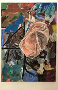 Oil And Mix-media Collage By Ron Moody -- 1970s-80s Dallas Artist