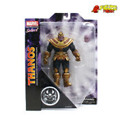 Marvel Select Thanos Infinity 7 Disney Exclusive Action Figure Nm Package