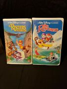 The Rescuers - Down Under Vhs 1991 - 1992 Black Diamond