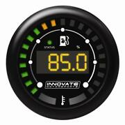 Innovate Mtx-d Ethanol Content And Fuel Temp Complete Gauge Kit - Black Dial
