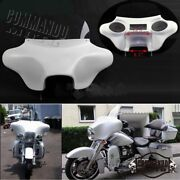 Detachable Batwing Fairing 6x9 Speakers Stereo For Harley Road King Flhrc 94-17