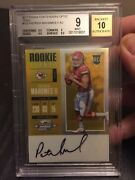 2017 Panini Contenders Optic Gold 5/10 Patrick Mahomes Bgs 9 Mint Rc Auto Invest