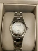 Baume And Mercier Linea For Woman M0a10113 Automatic And Diamant No Warranty Card