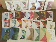 Greeting Card Lot. Christmas Birthday Thanksgiving. Vintage. 70+pc. Made In Usa