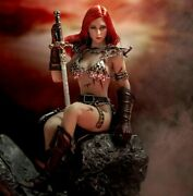 Oem Red Sonja Poseable Seamless Body Phicen Action Figure And Accessories