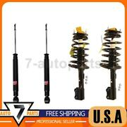 Kyb Front Rear Shock Absorber Struts And Coil Spring 4x Fit 2007-10 Toyota Sienna