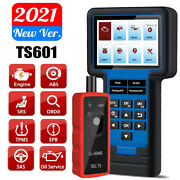 Ts601 Check Engine Abs Srs Obd2 Scanner Tpms Sas Oil Epb Reset Diagnostic Tool