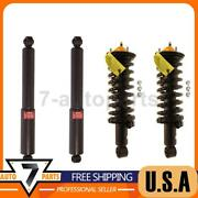 Kyb Front Rear Shock Absorber Struts And Coil Spring 4x Fit 2005-06 Nissan Xterra