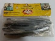 Extremely Rare Vintage Guido's Scatter Shad Nos Rubber Fishing Lure Luck E