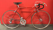 Vintage Bicycle Road Bicycle Zeus2000 Fork Steel Red Campagnolo Dura Ace
