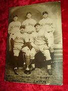 Baseball Players Photo From Lansford Pa Estate St. Johnand039s J. Wargo Beerand039s More