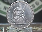 1861 P Seated Liberty Half Dollar 50c 1 East Coast Coin And Collectables, Inc.