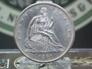 1861 P Seated Liberty Half Dollar 50c 1 East Coast Coin And Collectables Inc.