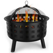 Regal Flame Ouray Ball Backyard Garden Home Light Wood Fire Pit. Perfect For ...