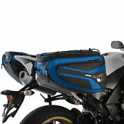 Motorcycle Panniers Bag Oxford P50r 50 Litre 7 Point Strap Fitting - Blue