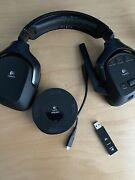 Logitech G930 Black Over The Ear Headset With Usb And Charging Dock