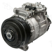 A/c Compressor And Clutch- New Four Seasons 198390