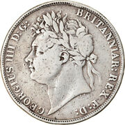 [904934] Coin, Great Britain, George Iv, Crown, 1821, London, Vf, Silver